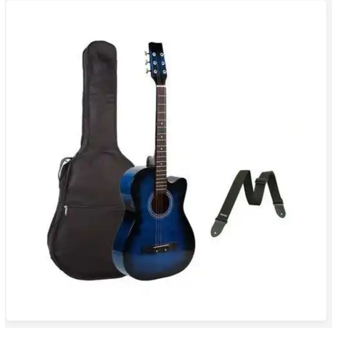 Generic Acoustic Box Guitar Blue Jumia Nigeria