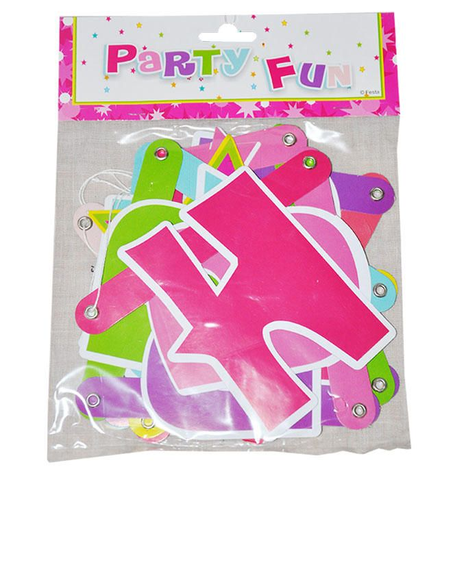 Party Banners Happy Birthday Alphabets  Buy online  Jumia Nigeria