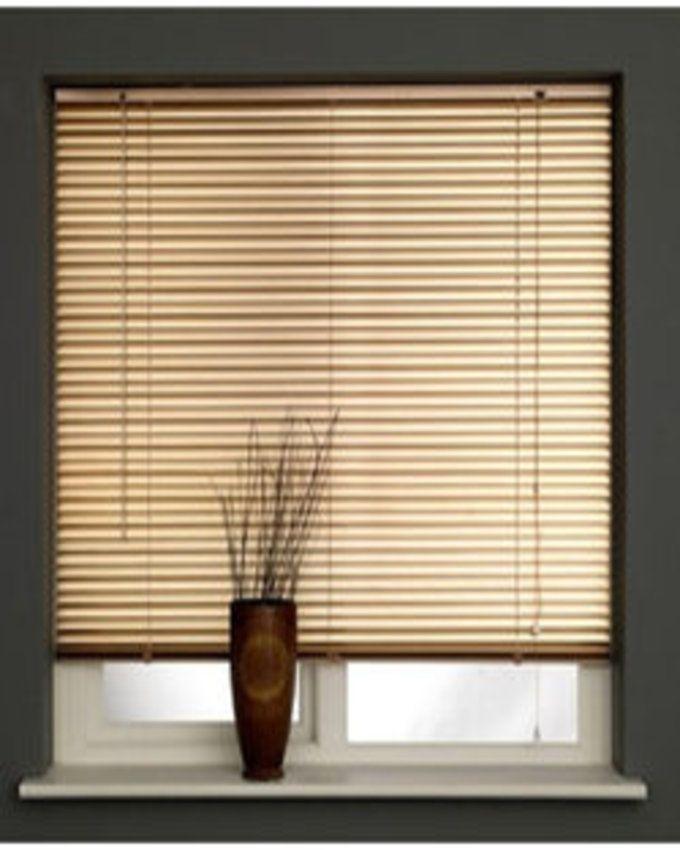 FM Aluminium Venetian Window Blinds Gold Lagos Only