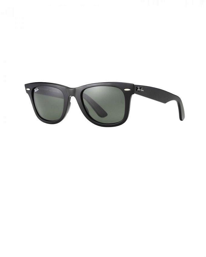 classic wayfarer glasses  Rayban Designers Classic Wayfarer Glasses - Black