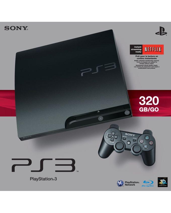 Sony ps3 console 320gb slim buy online jumia nigeria for Mediaworld lavatrici slim