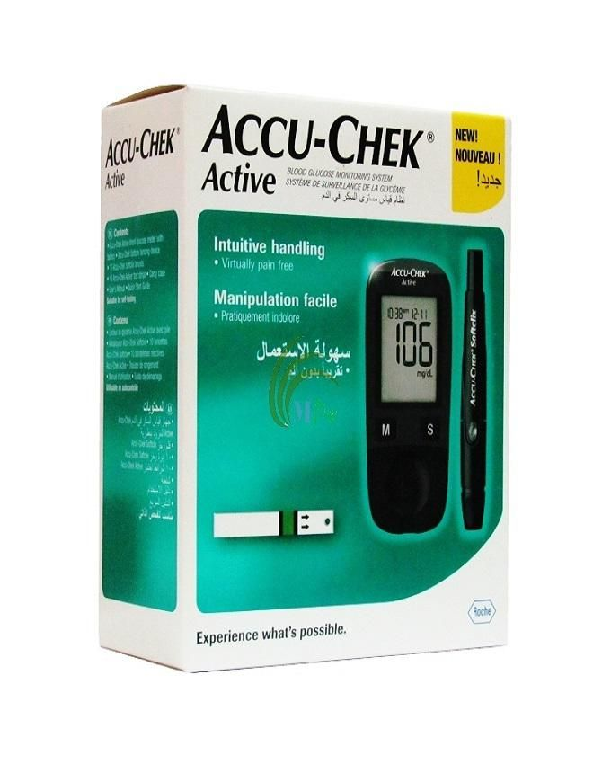 Accu-Chek Active Blood Glucose Monitoring Device | Buy ...