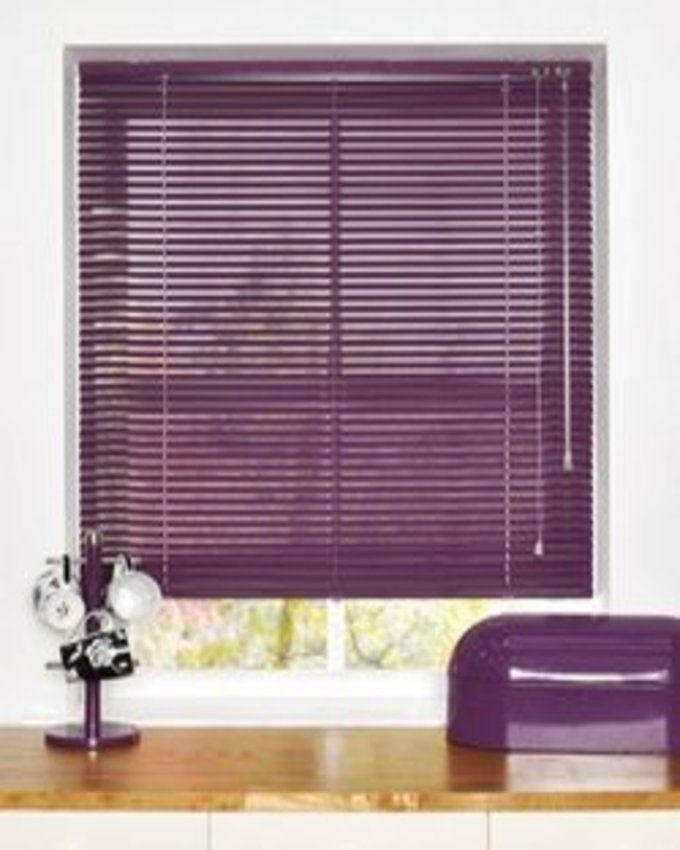 FM Aluminium Venetian Window Blinds Purple Lagos Only