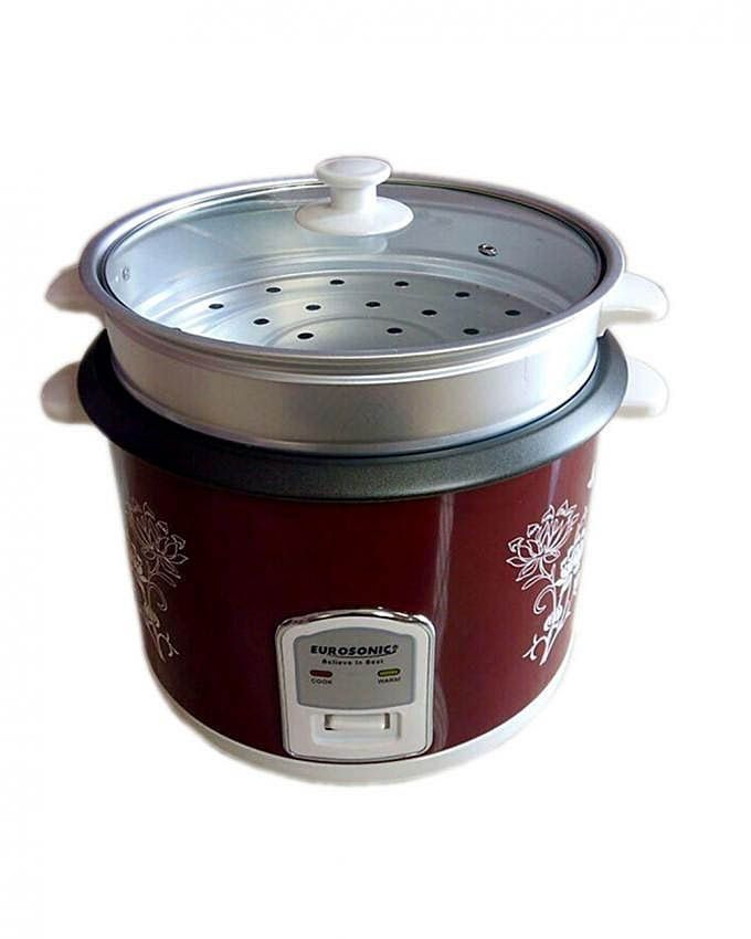 Image result for How to use Eurosonic Rice Cooker - (3.0L)- Red