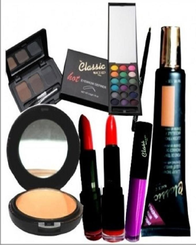 Classic Makeup Complete Makup Kit With Free Bag