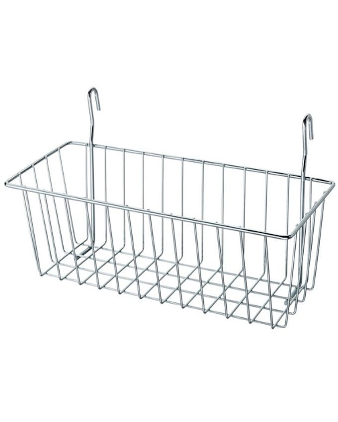 Ikea omar clip on wire basket for chest freezer for Ikea chest freezer