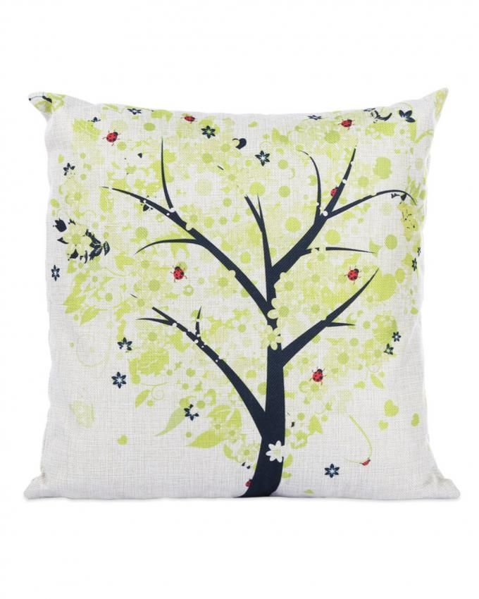 Throw Pillow Jumia : Generic Cushion Cover Season Life Tree 45x45CM - Green Buy online Jumia Nigeria
