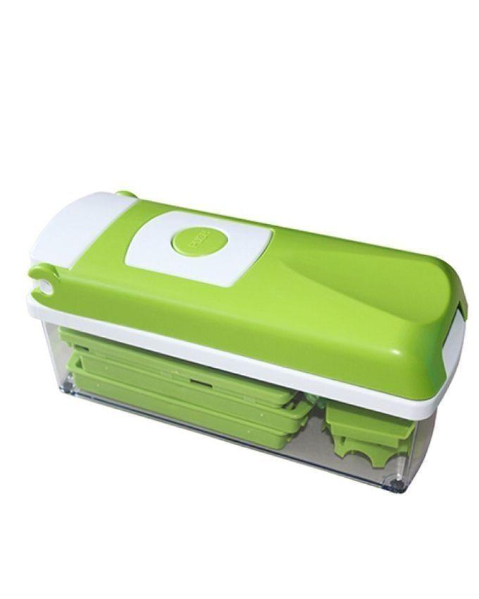 universal nicer dicer vegetable fruit slicer green buy online jumia nigeria. Black Bedroom Furniture Sets. Home Design Ideas