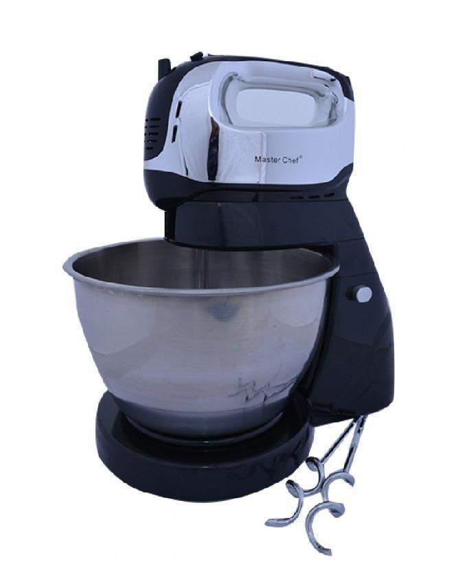 Electric Mixing Bowl ~ Master chef electric hand mixer with rotating bowl buy