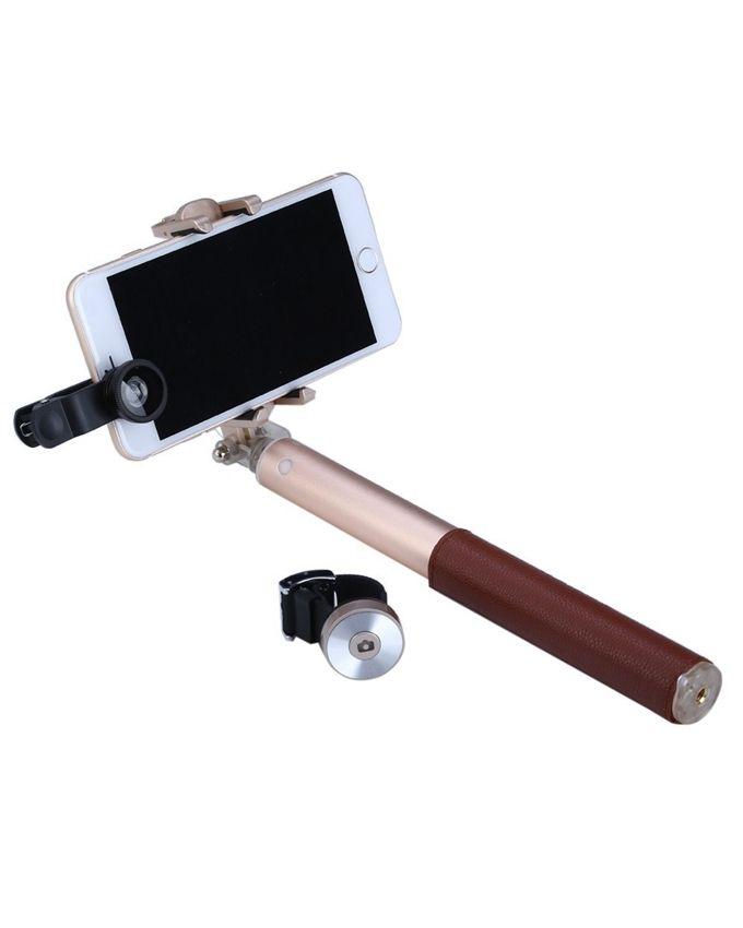 noosy br11 selfie stick extendable bluetooth 3 0 tirpod brown buy online jumia nigeria. Black Bedroom Furniture Sets. Home Design Ideas