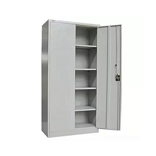 Full Height Swinging Door Metal Cupboard File Cabinet & Book Shelf