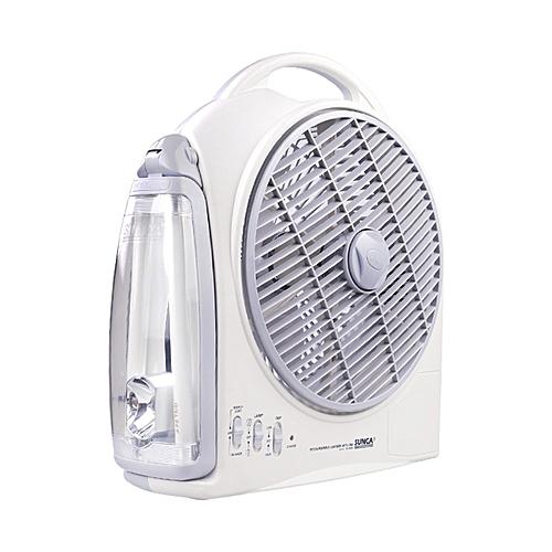 15w POWER Box Fan Outdoor Travel Fan Hiking Fan Recahrgeable Ac/dc Fan With LED Light