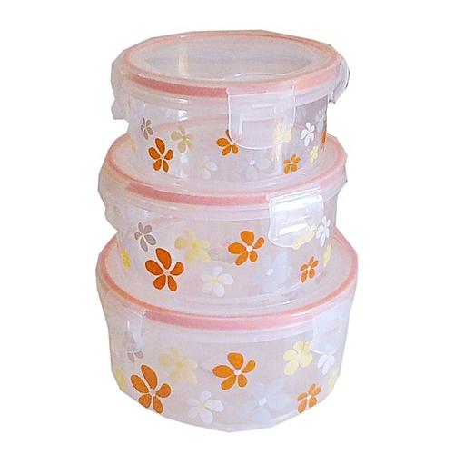 3pcs Food Storage Bowl