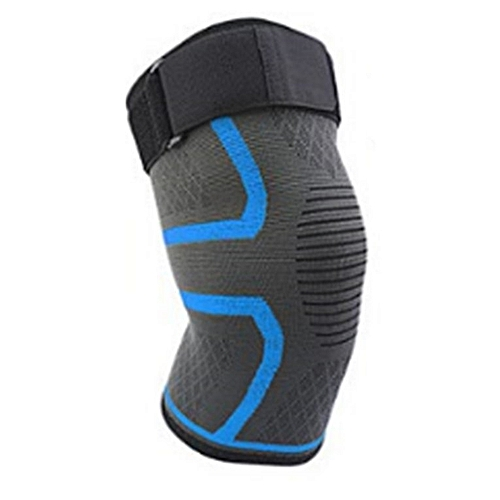 f8285aed29 Generic Knee Support Brace Single Wrap Compression Sleeve Stabilizer For  Arthritis Sky Blue