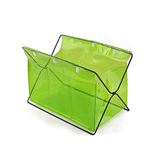 Honana HN-B20 Multifunctional Desk Organizer Colorful PVC Comsmetics Staionary Storage Box