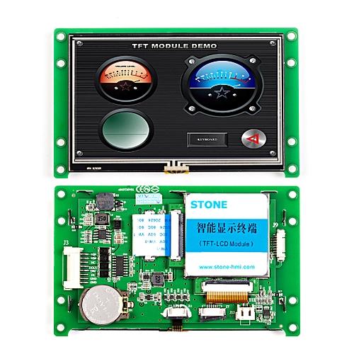 4.3 Inch Touch Scrren HMI Panel Embedded LCD Display