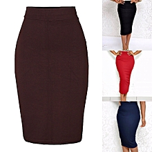 fd6624b331 Dazen Collections 4 Midi Bodycon Pencil Skirts Value Pack