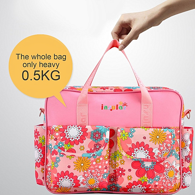 Fashion Waterproof Baby Mammy Diaper Bag Large Capacity Shoulder Handbag