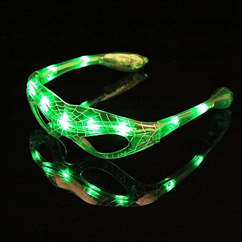Prom Light Festival Party No Casual Glasses Lens Bar Frame Club Party LED Unisex Glasses Festival Streamlined Glowing Etc