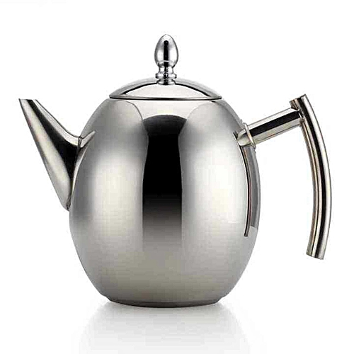 1L 1.5L Stainless Steel Coffee Pour Over Kettle Drip Tea Pot W/ Filter Strainer [1.5L]