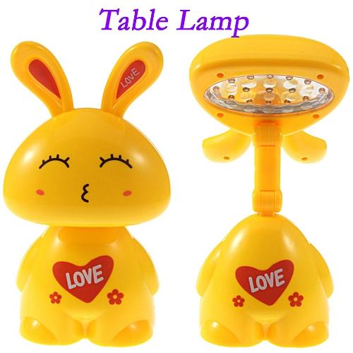 Foldable LED Table Lamp -Yellow
