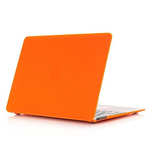 Air Macbook Retina Pro Apple Notebook Case Multi-model Frosted Case Shell Orange