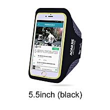 "Arm Belt Phone Bag Outdoor Ultra Light Sport Running Bag Transparent Phone Case Cycling Arm Band Bag For 4.7""/5.5"" Phone(L Black) for sale  Nigeria"