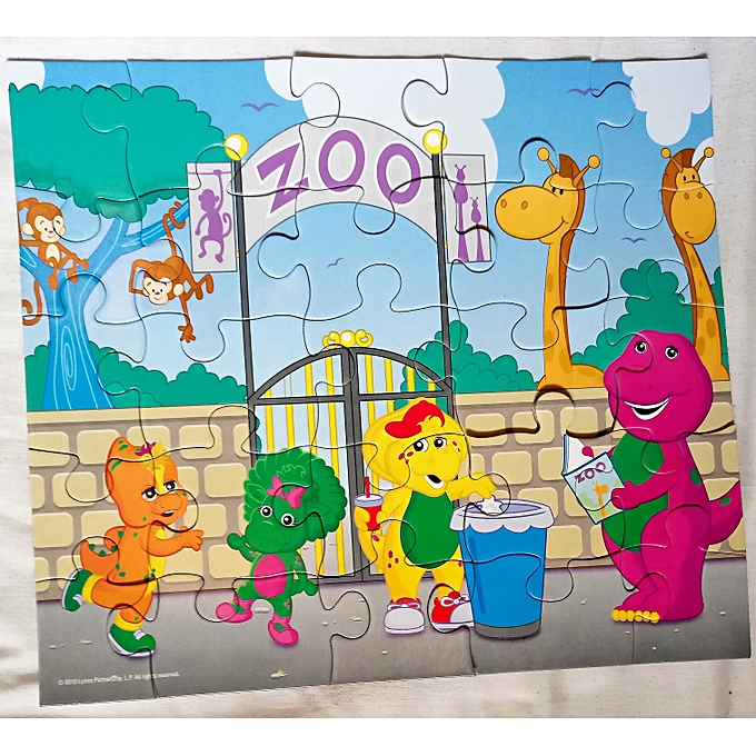Barney Barney And Friends 25pc Jigsaw Puzzle - 2 Sets ...