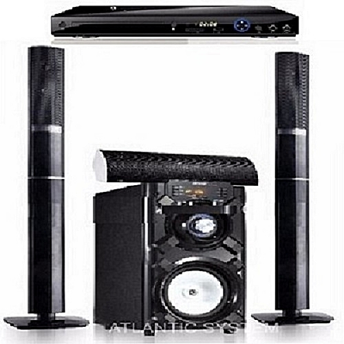 Heavy Duty Bluetooth Home Theatre System + Powerful DVD Player
