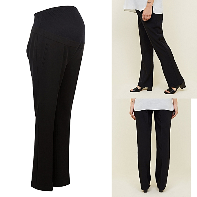 a307d31274af9 New Look Overbump Bootcut Black Maternity Trousers | Jumia NG