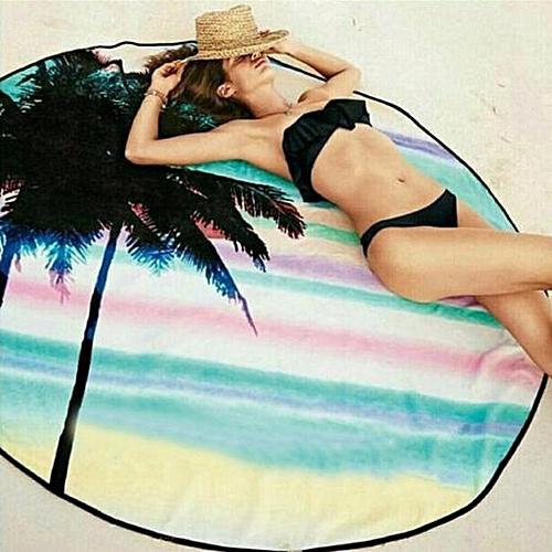 Nxioasd Shop Round Hippie Tapestry Beach Throw Roundie Towel Yoga Mat Bohemian Featur