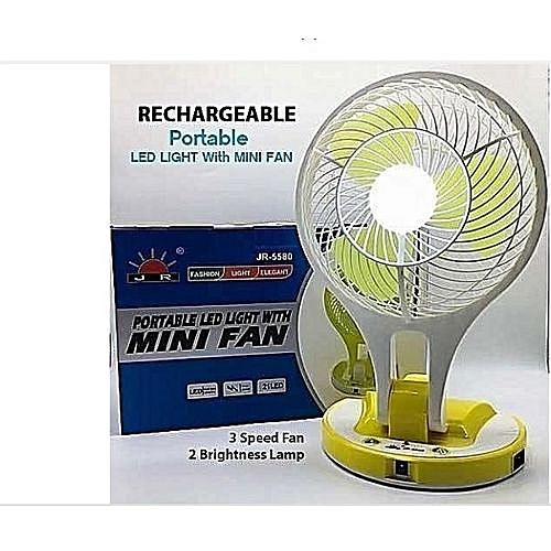 Rechargeable Fan - Blue