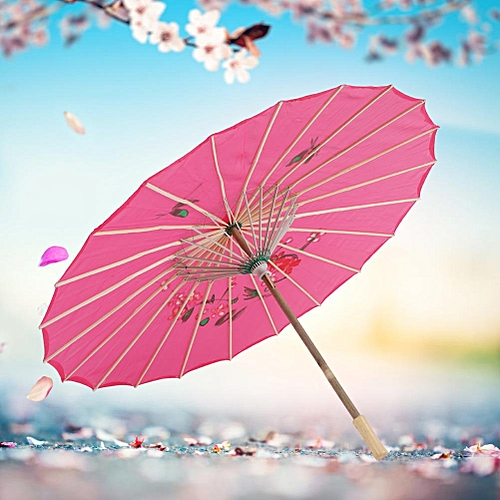 Chinese Classic Oriental Oiled Paper Umbrella Parasol Wedding Party Decor Photography Accessories Costumes Cosplay Umbrella