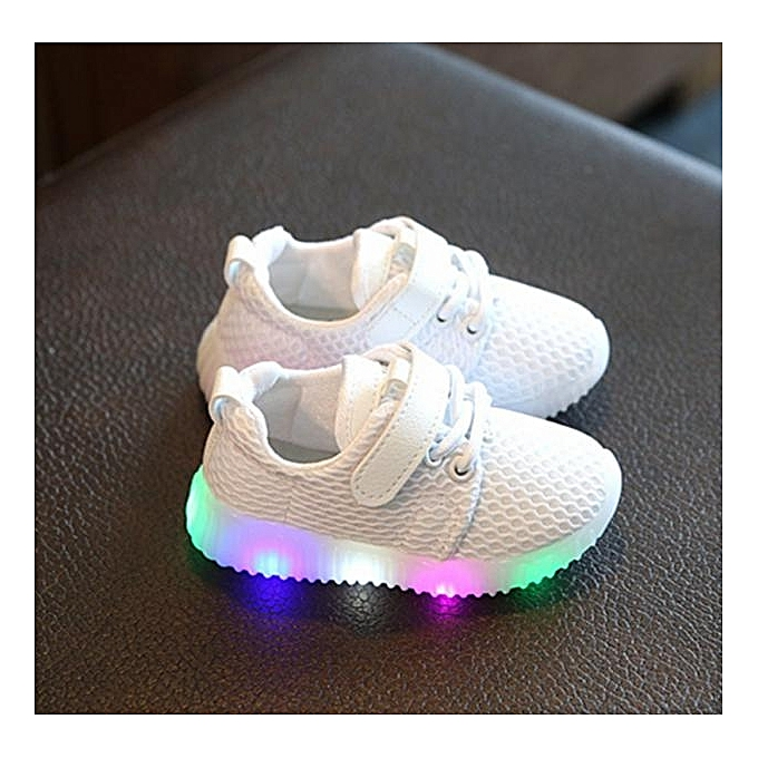 8819cb76288 SOXY Children  s Shoes Unisex LED Lights Boys Girls Shoes Casual ...