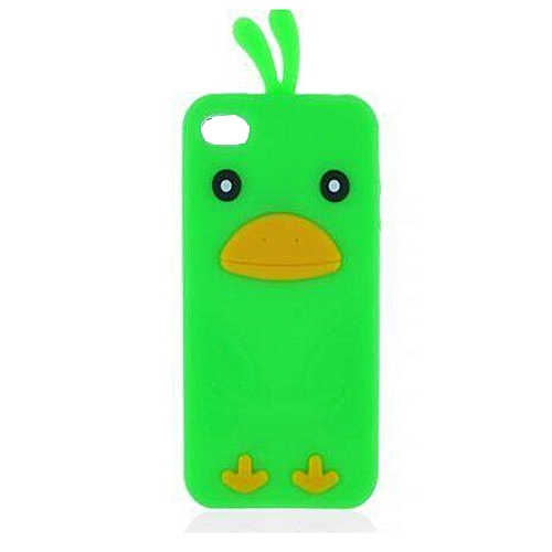 super popular 20748 70001 IPhone 4S Silicone Case, Anya 3D Cartoon Animal Chick Duck Soft Silicone  Rubber Cool Fun Cute Fashion Hot Case For Apple IPhone 4G 4S For Guys Men  ...