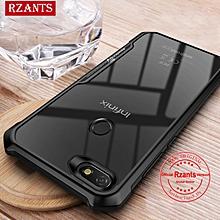 Rzants For Infinix NOTE 5 X604 Hard Case【Four Corner】Transparent Silica Gel Matte