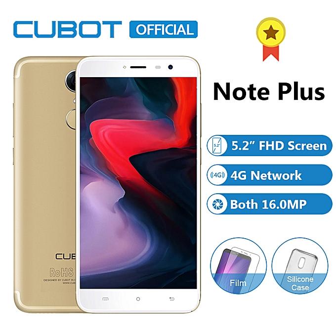 Cubot Note Plus 5 2 Inch Fhd 3gb 32gb Rom 16mp 16mp
