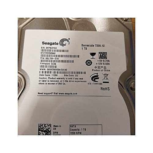 Seagate 1TB Desktop Internal