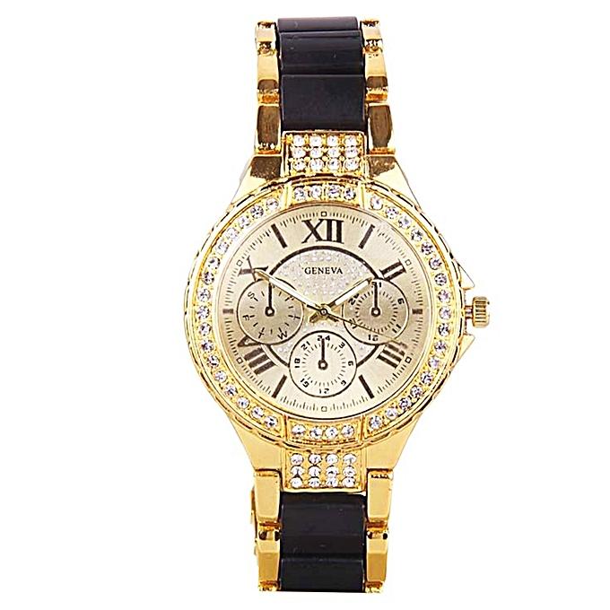 Geneva Bracelet Wrist Watch