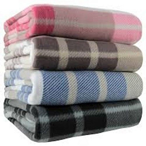 School Blanket Big Size(2 Pieces) Multicolour