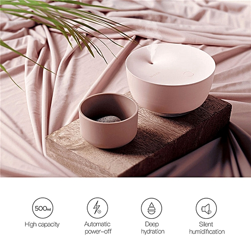 500ml Air Humidifier Silent Operation With Auto-power Off Function And Warm LED Light