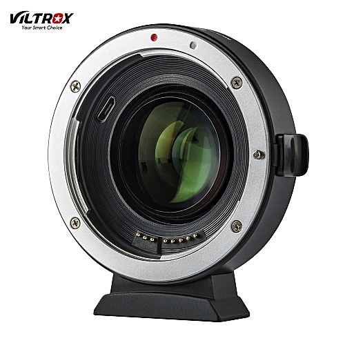 Viltrox EF-EOS M2 Auto Focus Lens Mount Adapter Ring 0.71X Focal Lenth Multiplier USB Upgrade For EF Series Lens To EOS EF-M Mirrorless Camera For EOS M/ M2/ M3/ M5/ M6/ M10/ M50/ M100