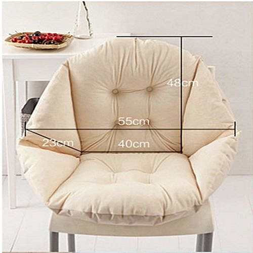 Soft Seat Cushion Back Cushion Surrounded By Lovely Office Chair Shell Cushion--BEIGE