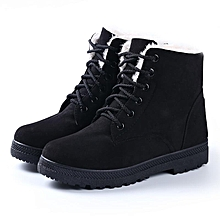 67647f53159e Warm Snow Heels Winter Boots Women Ankle Fur Plush Shoes