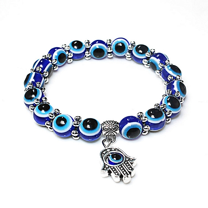 New Arrivals Charm Evil Eye Bead Protection Lucky Bracelet Jewelry Hamsa Hand Gift