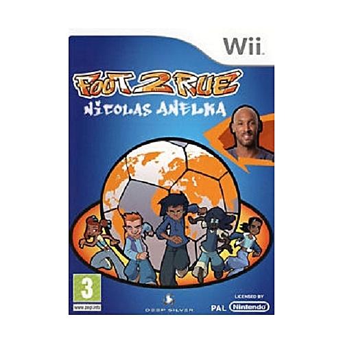 Deep Silver Foot 2 Rue: Nicholas Anelka - Nintendo Wii (Pal)