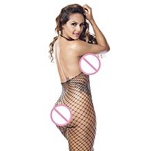 20af6e518ca Sexy Women Fishnet Sheer Open Crotch Body Stocking Bodysuit Lingerie  PKyumisok