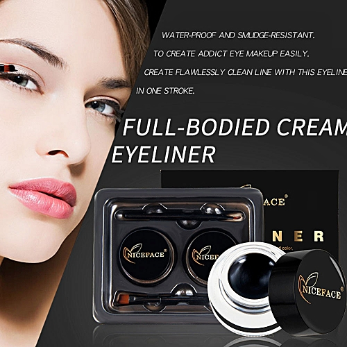 Eyebrow Cream Eyeliner Cream Fast Dry Natural Waterproof Beauty Makeup Eye Liner Palette Drawing Make Up