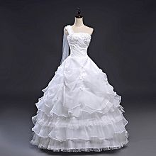 Laceup Ball Wedding Dress Gown