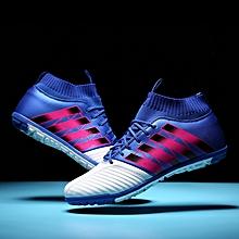 Men  039 s Soccer Shoes TF Futsal Hard Court Turf Football Boots Indoor Sock 01374913001f4
